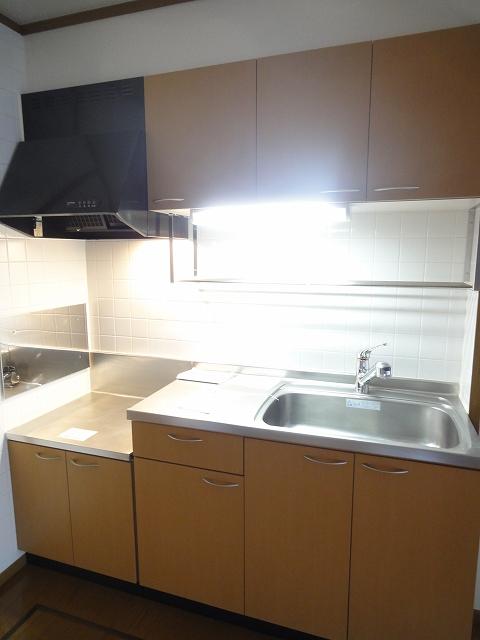 フジハイムⅡ 01010号室のキッチン