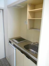 ジュネパレス津田沼A-2 0201号室のキッチン
