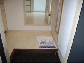 ハイム六会 0102号室の玄関