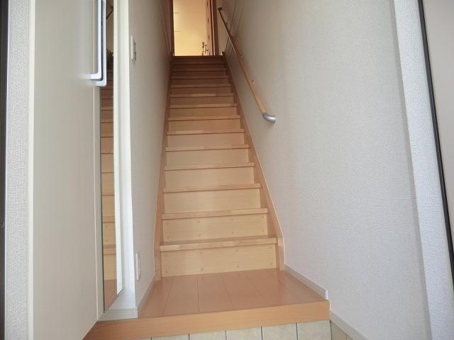 シャンゼリゼ B 02010号室の玄関