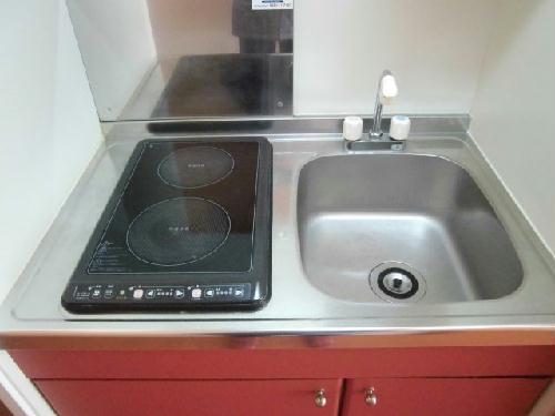 レオパレスベッラハピア 202号室のキッチン
