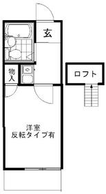 パレス大船第8・0202号室の間取り