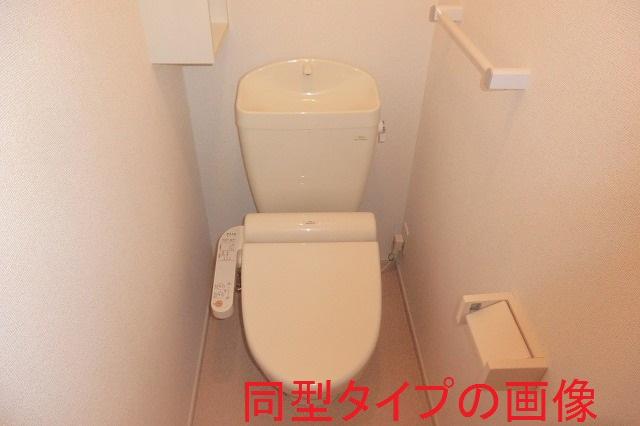 バーミィ Ⅲ 01030号室のトイレ