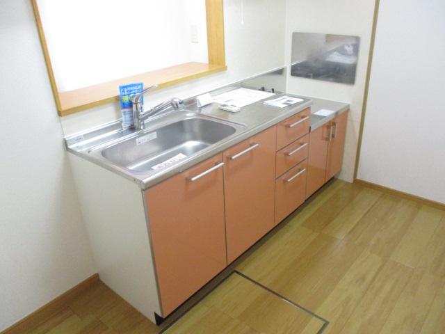 ペルペートⅢ 01020号室のキッチン