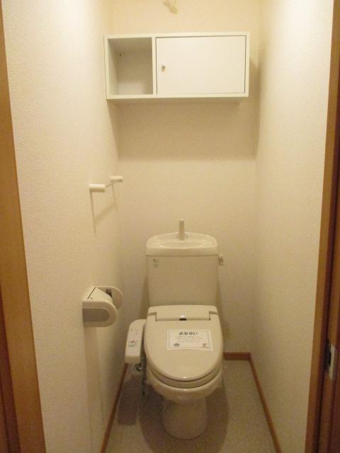 ペルペートⅢ 01020号室のトイレ