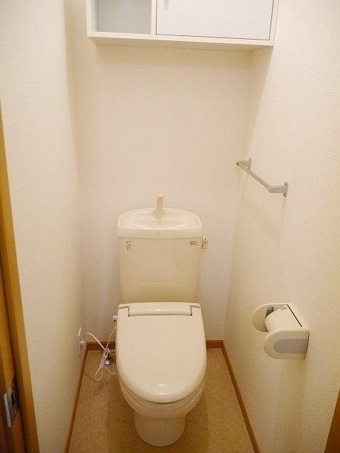 ドリームK 01010号室のトイレ