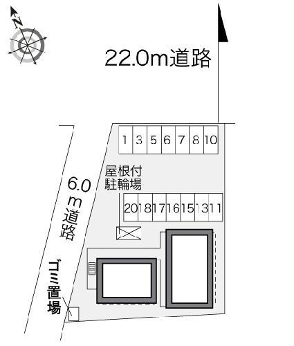 レオパレスフラワーフォート 206号室のその他