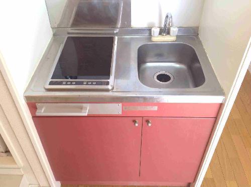 レオパレス山手 201号室の収納