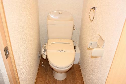 レオパレス輝 104号室のトイレ