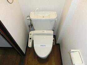 レジデンス岡野Ⅱ 203号室のトイレ