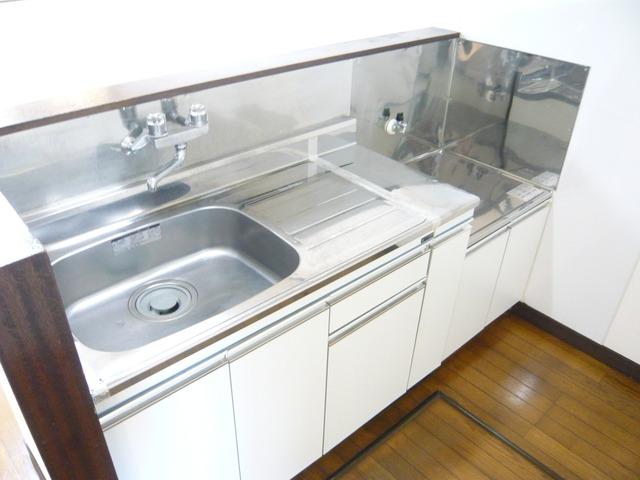 グリーンパレス伊勢崎 102号室のキッチン