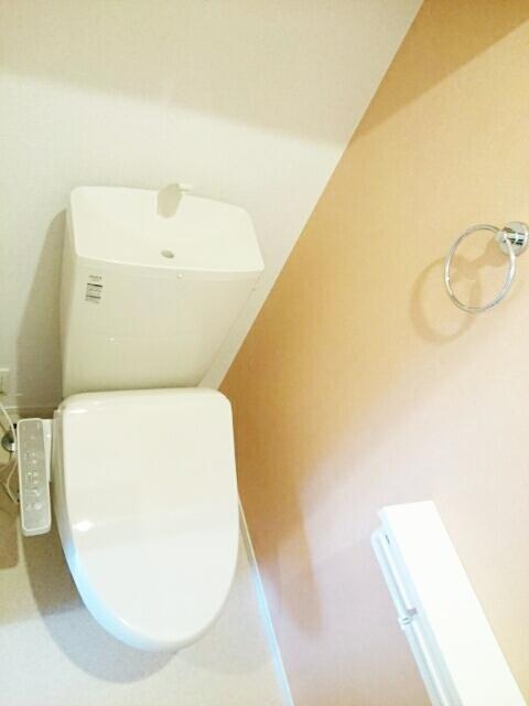 ハイツシェルティーA 01010号室のトイレ