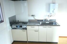 川延荘 202号室のキッチン