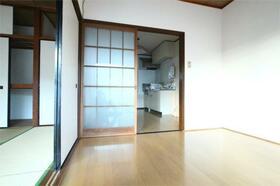川延荘 202号室のリビング