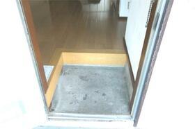 川延荘 202号室の玄関