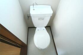 川延荘 202号室のトイレ