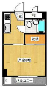 アネックス弐番館・305号室の間取り