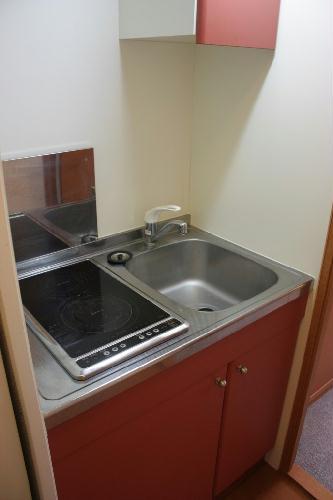 レオパレス芦田スマイルⅡ 101号室のキッチン