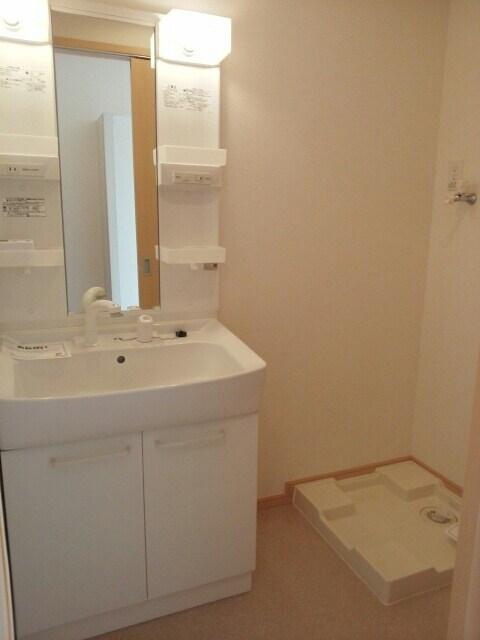 soybean flour 01030号室の洗面所