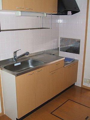 コワンシック 01010号室のキッチン