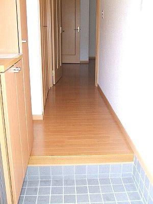 コワンシック 01010号室の玄関