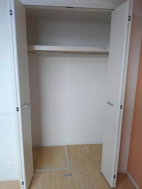 サフィール 01020号室の収納