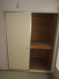 ビレッヂゲートC 203号室の収納