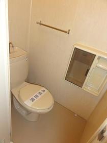 ビレッヂゲートC 203号室のトイレ