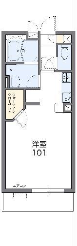 レオネクストレ マーニ・102号室の間取り
