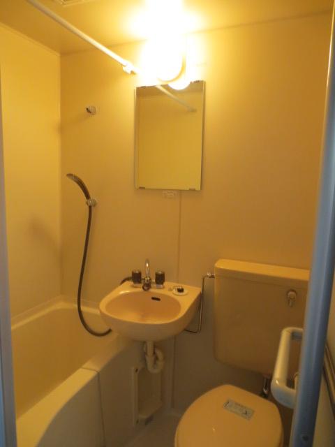 グランデュール本川越 205号室のトイレ