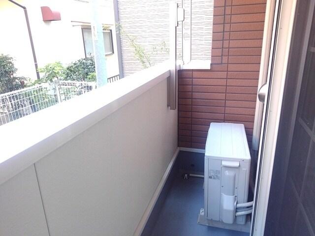 プラシード・E 01030号室のバルコニー
