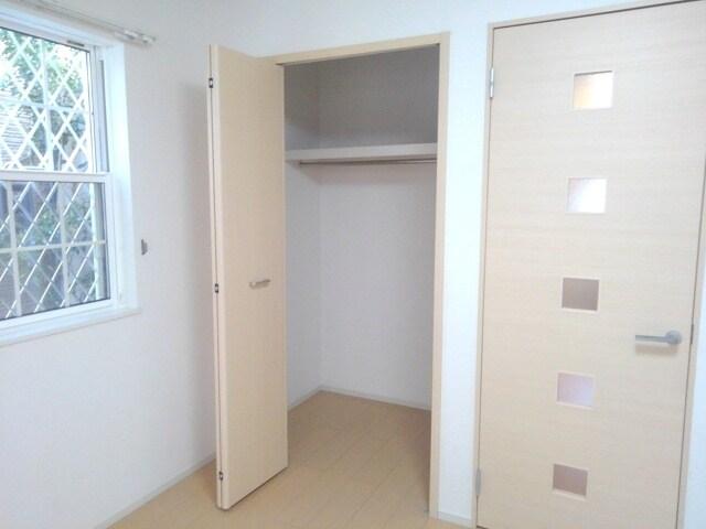 プラシード・E 01030号室の収納