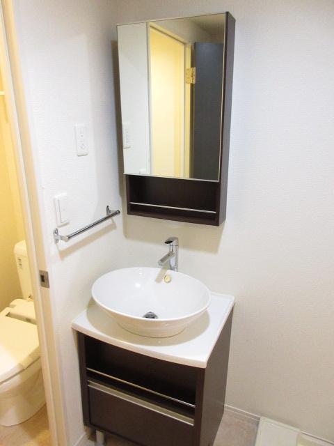 リブリ・キクエイ 102号室の洗面所