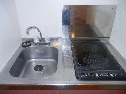 レオパレスツェーントル三好 103号室のキッチン