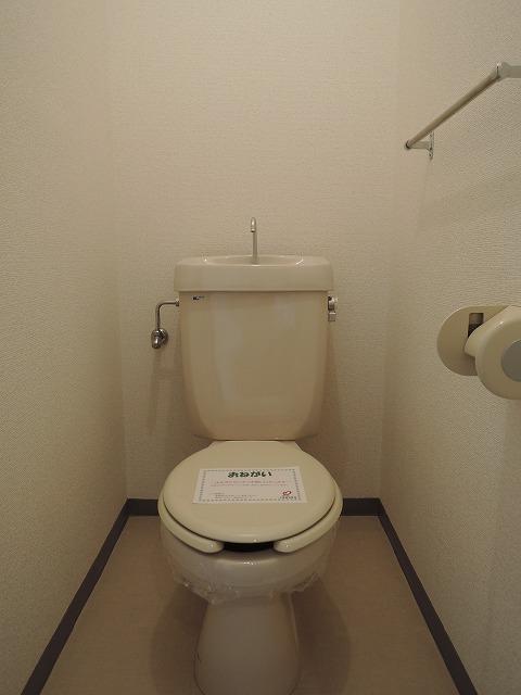 光マンション 02030号室のトイレ