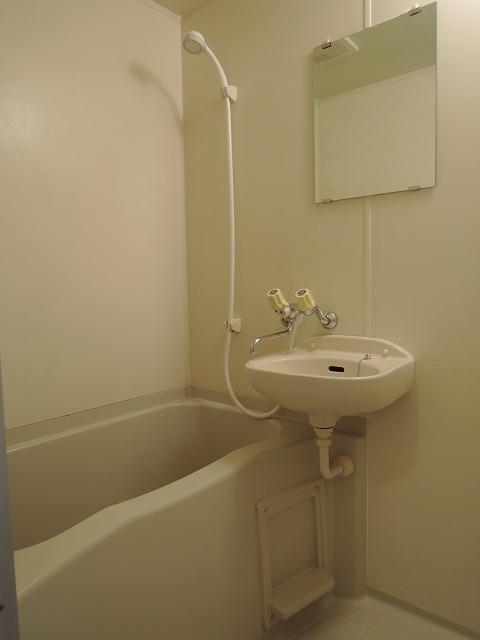 光マンション 02030号室の洗面所