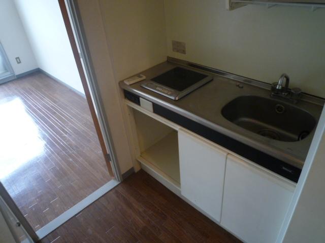 光マンション 02030号室のキッチン