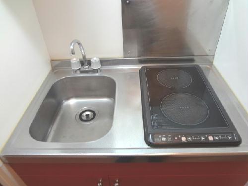 レオパレスグランビュー 207号室のキッチン
