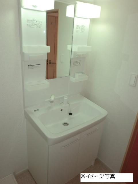 ティーズヴィラ八田 02010号室の洗面所