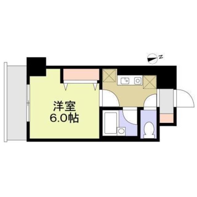 アレンダール大須・1002号室の間取り