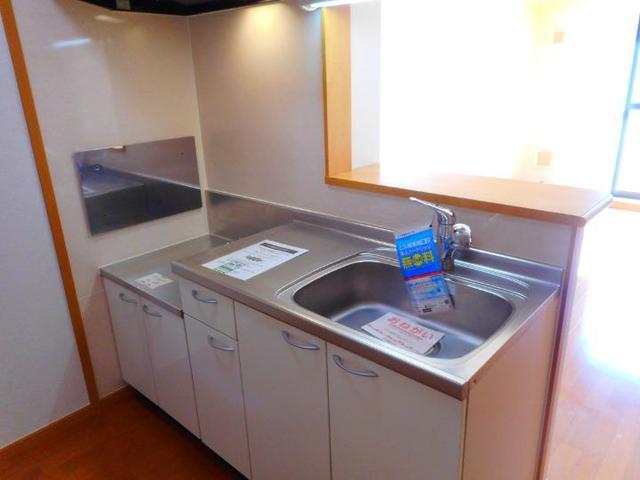 BLUELAGOON WEST 01010号室のキッチン