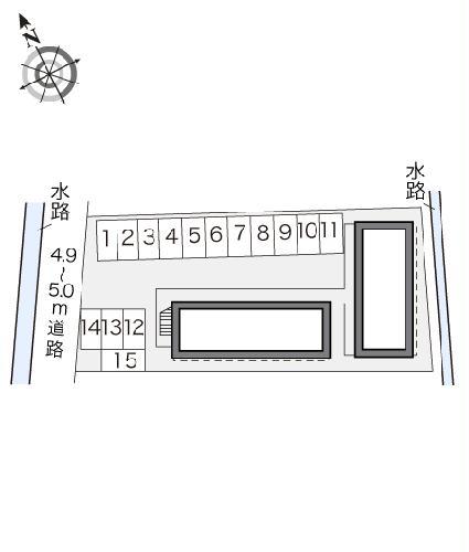 レオパレスエスポア屋敷代 201号室の駐車場