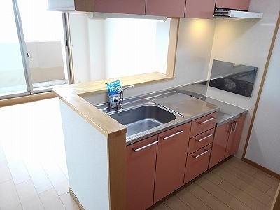 レジデンス港西 02010号室の洗面所