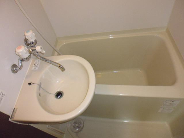 SOLA新子安 201号室の風呂