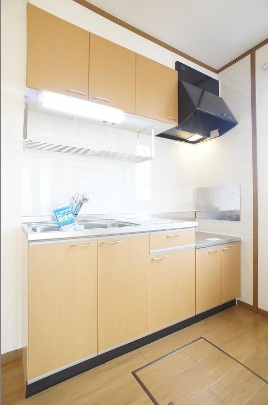 ソレイユルヴァン 01040号室のキッチン