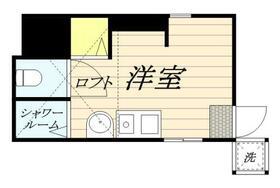 プレステージ椎名町・0102号室の間取り