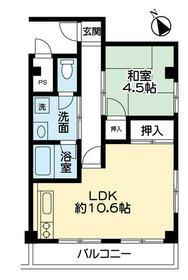 大新マンション 305号室の間取り
