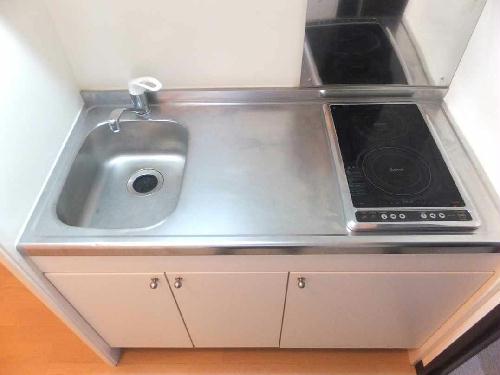 レオネクストレジーナⅢ 102号室のキッチン