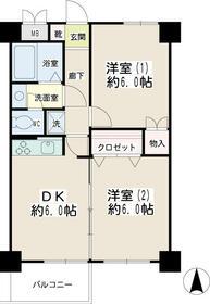 大口増田ビル・00206号室の間取り