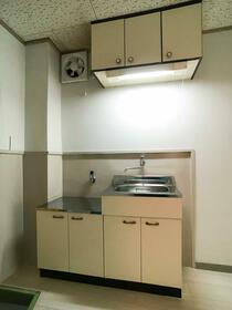 原口コーポ 301号室のキッチン